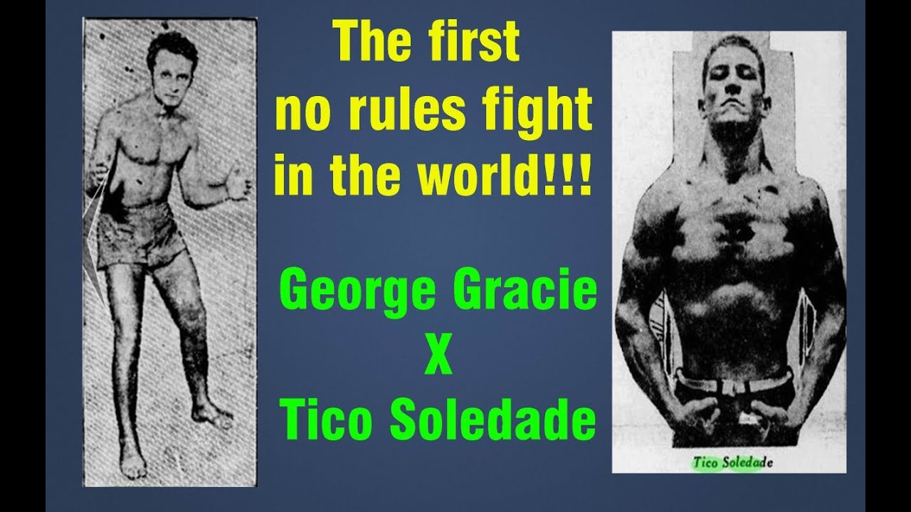 THE FIRST NO RULES FIGHT IN THE WORLD !!