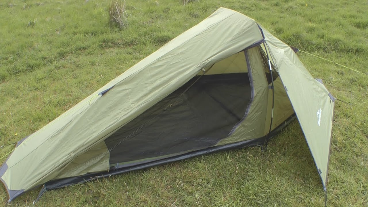 & Testing a bargain one man tent from Aldi - YouTube