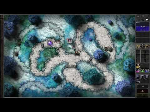 Gemcraft Frostborn Wrath T5 Trial mode Gameplay |