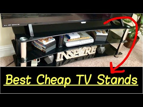 """✅Best Cheap TV Stands for 42"""", 55"""", 65"""", 75"""", or 80"""" TV Entertainment Center Quick Overview"""
