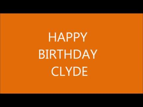 HAPPY BIRTHDAY CLYDE FROM COWBOY TALKING TOM CAT