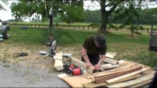 Building A Outhouse Privy (thunderbox)