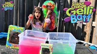 Huge Surprise Toys in Gelli Baff for kids Fun Pretend Play