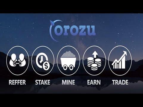 Blockchain/Crypto riview: Orozu Trading,Staking,Lending,Mining,Affiliate