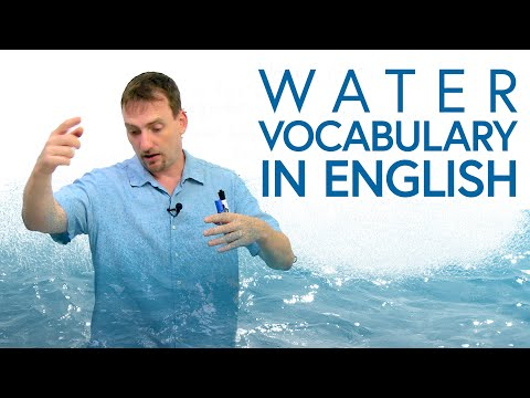 Water Vocabulary & Expressions in English