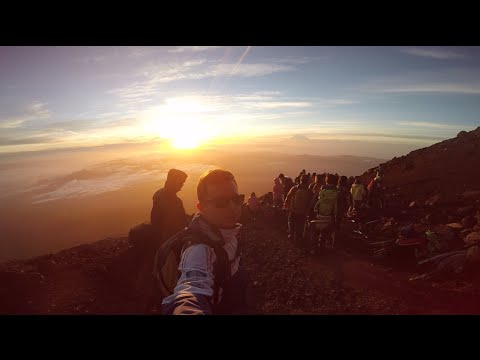 BEST EXPERIENCE Fuji Mountain Climb GoPro Around The World Trip 2015