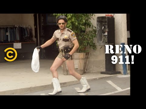 Lieutenant Dangle Is a Fashion Icon with His New Boots - RENO 911!