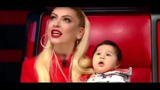 Hadise'nin bebek sevgisi! Yarışmacının bebeğini kucağına aldı!