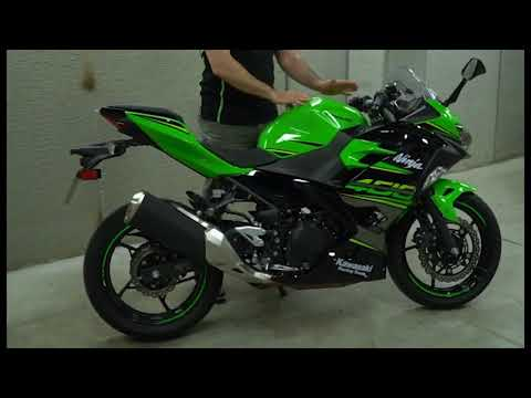 La Mejor Moto Para El Carnet A2 K Ninja 400 Youtube