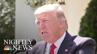 North Korea Crisis Is Now 'My Responsibility', President Donald Trump Says | NBC Nightly News