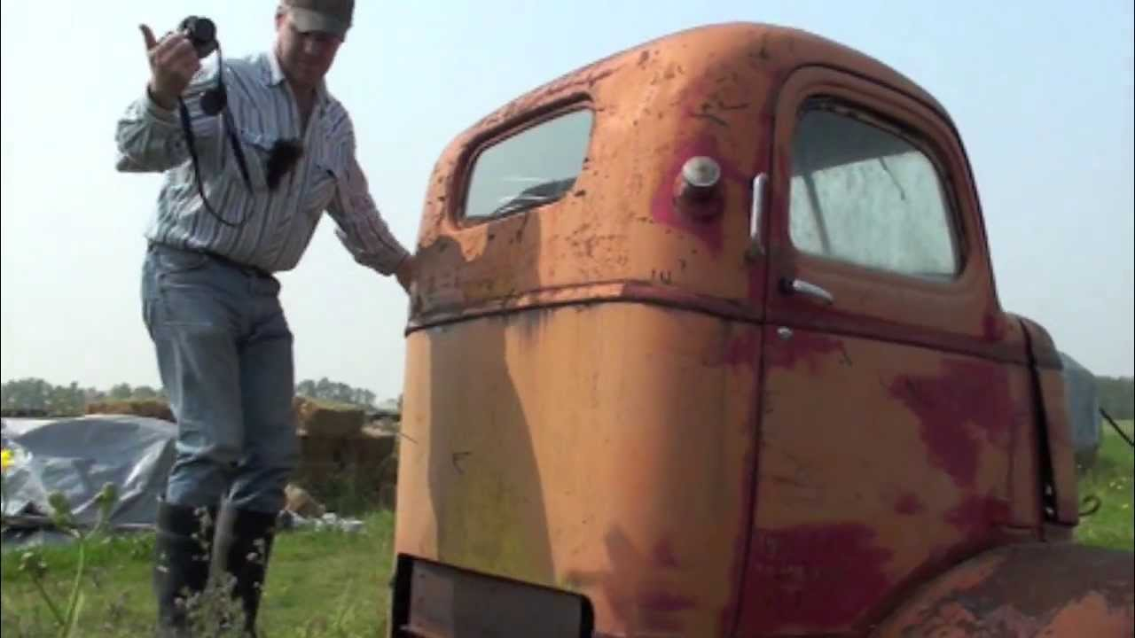 1940s Vintage GMC Cabover (COE) Truck - YouTube