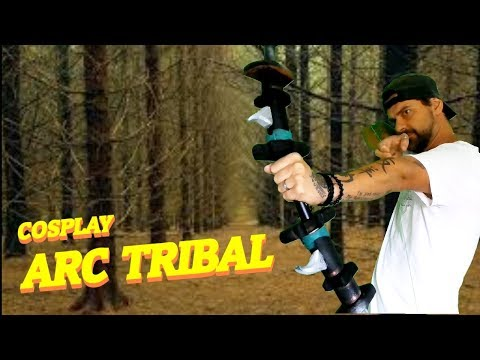 TUTO COSPLAY ARC TRIBAL EN TUBE PVC