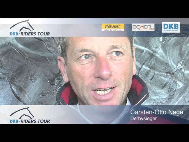 DKB Riders Tour 2016 - Carsten-Otto Nagel  - Vorfreude aufs Derby