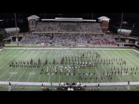 Cypress Woods High School Band 10-13-16 Halftime