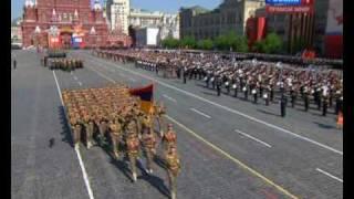 9 Мая. Парад в Москве, Армяне.