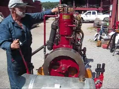 20th Century 2 Cylinder Inboard Marine Engine Youtube