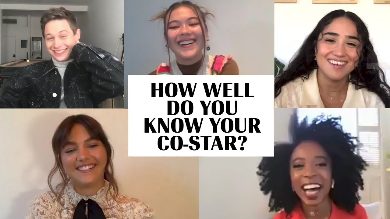 The Cast of 'Generation' Plays 'How Well Do You Know Your Co-Star?' | Marie Claire