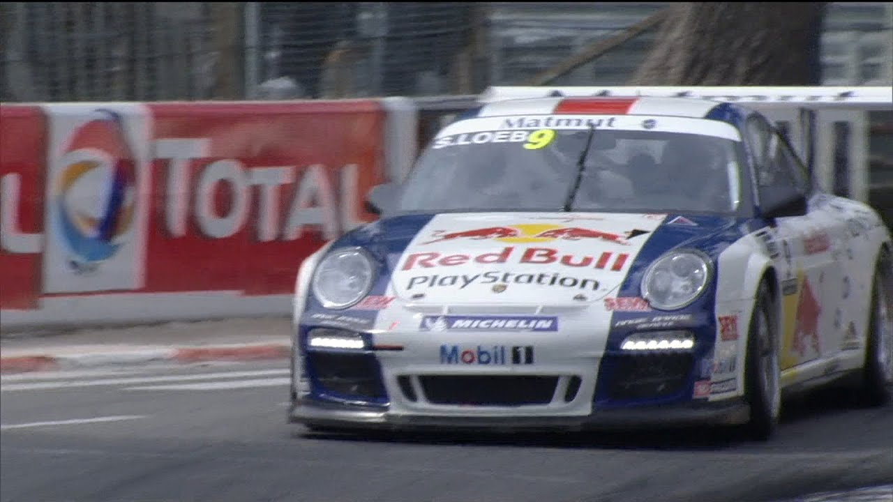 sebastien loeb racing and his porsche gt3 cup wins gp of pau france youtube. Black Bedroom Furniture Sets. Home Design Ideas