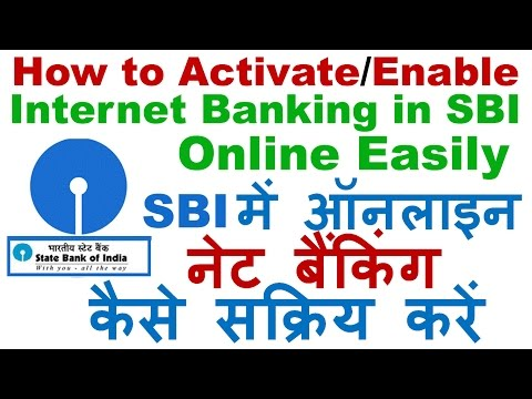 How to Activate/Enable Internet Banking in SBI Online Using ATM  Easily - SBI Internet Banking