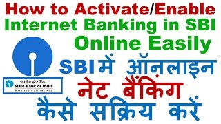 vuclip How to Activate/Enable Internet Banking in SBI Online Using ATM  Easily - SBI Internet Banking