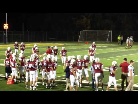 Brian Kaufman Extra Point #4 St. James Academy vs Turner High 10/24/14