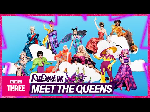 RuPaul's Drag Race UK Series 3 | Meet The Queens | BBC Three