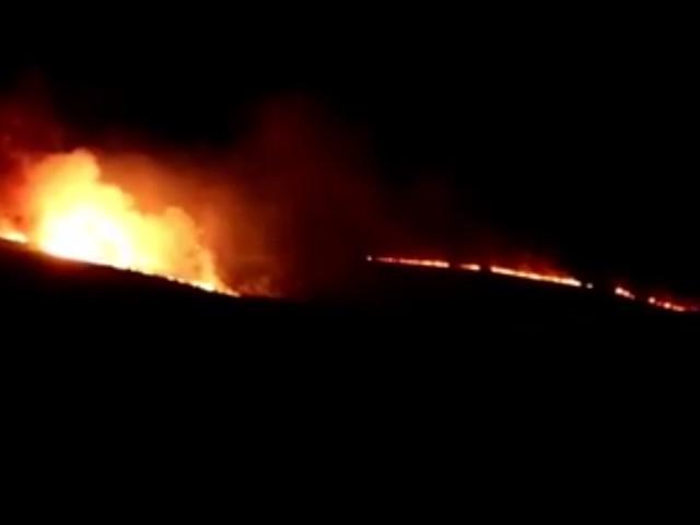 Incendio forestal en Béjar