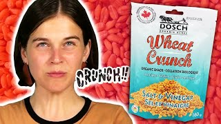 Irish People Try Cąnadian Wheat Crunch