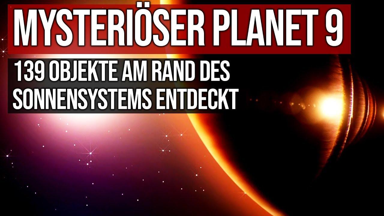 Mysteriöser Planet 9 - 139 Objekte am Rande des Sonnensystems entdeckt