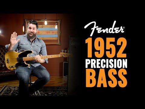 1952 Fender Precision Bass Guitar Demo