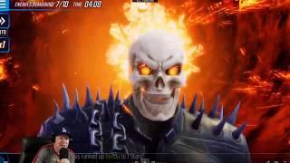 Dr. Strange & Mordo Rework - Kits Ghost Rider & Elsa Bloodstone - MARVEL Strike Force