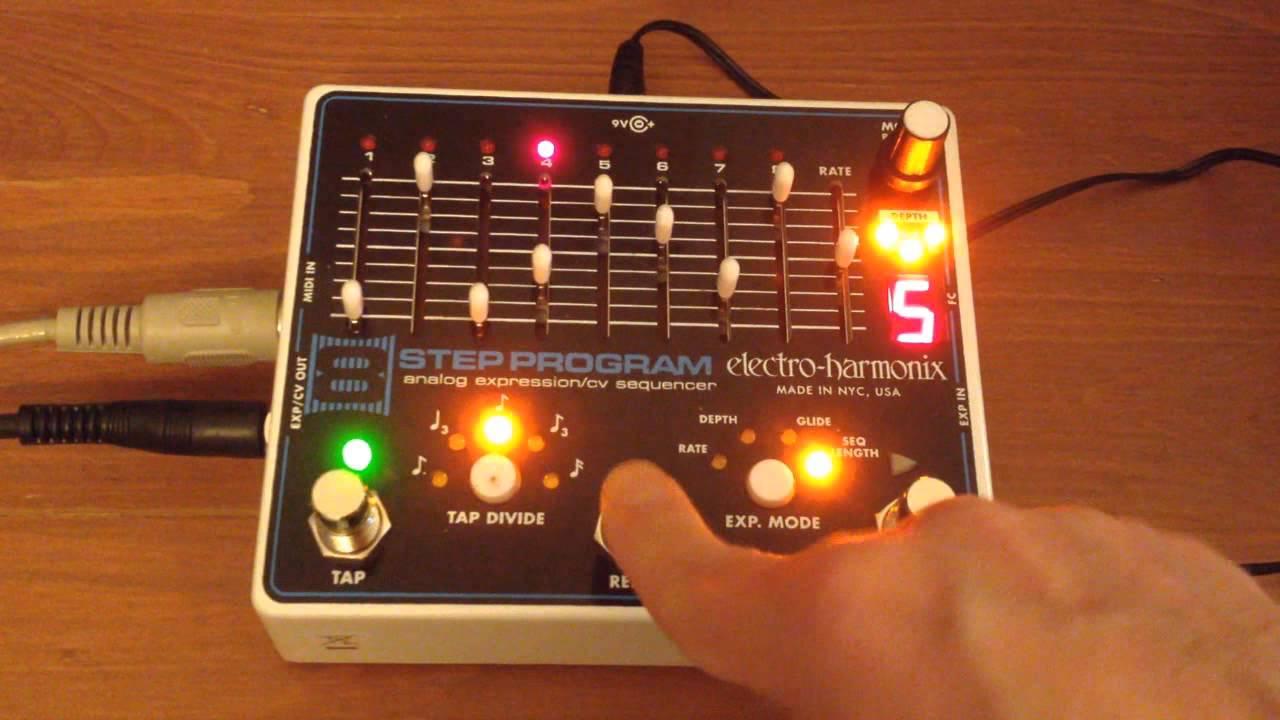review electro harmonix 8 step program modular synthesizer youtube. Black Bedroom Furniture Sets. Home Design Ideas