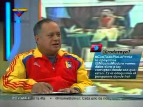Programa especial de VTV con Diosdado Cabello por la Ley Habilitante 2013
