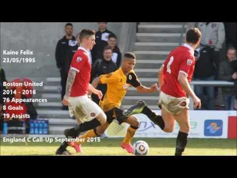 Non-League Talent: Kaine Felix 15/16