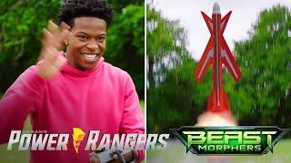 "Power Rangers Beast Morphers - Fun with Rockets | Episode 6 ""Hangar Heist"""