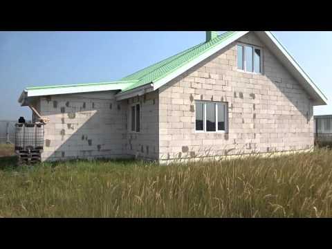 Строительство дома из газосиликатных блоков  Обзор видео блога  Стоимость строительства