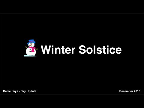 Winter Solstice Explained