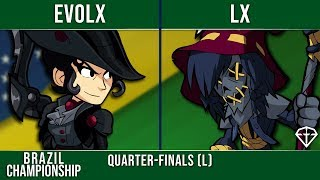 Evolx vs LX - Quarter-Finals (L) - Brazil Championship 2 Top 8