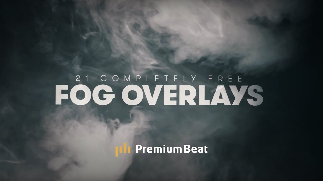 21 FREE 4K Fog Overlays for Video Editors and Motion Designers