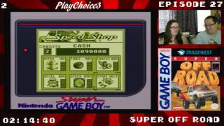 Beating Game Boy Games #27 Super Off Road Part 2