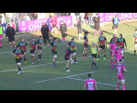EPCR Challenge Cup 2017-18 Pool 3 Rd 3 HIGHLIGHTS: Zebre Rugby vs Gloucester 26-33