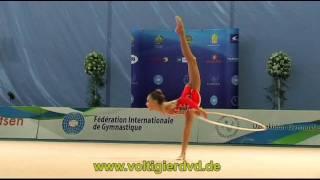 WC Tashkent 2011 - Junior Hoop 02 - Kseniya CHELDISHKINA