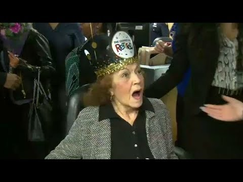 88-year-old NYPD receptionist retires after nearly a half century on the job