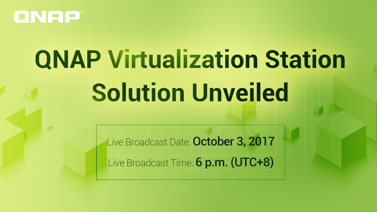 QNAP Virtualization Station Solution Unveiled - YouTube