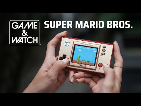 Trên tay Nintendo Game & Watch: Super Mario Bros Limited Edition