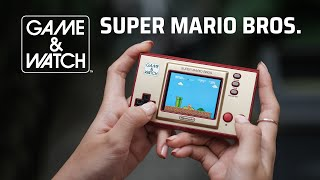 Trên tay Nintendo Game & Watch: Super Mario Bros Limited Edition