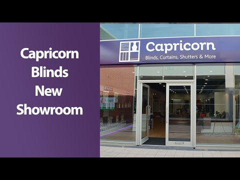 Capricorn Blinds | New showroom at Parkgate Shirley