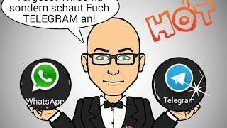 Telegram Nr.1- Die beste Whatsapp Alternative