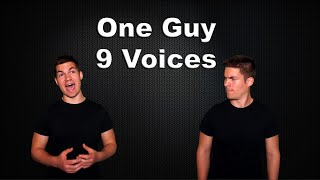 One Guy, 9 Voices | Average Jonas