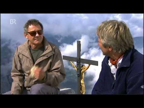Wolfgang Ambros besteigt mit Werner Schmidbauer den Watzmann 2005